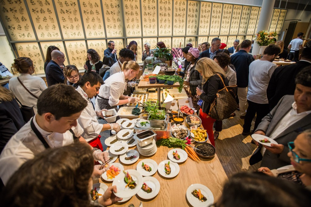 June 11: In Stockholm, Sweden, we partnered with Chefs' Manifesto and challenged 18 leading chefs, including celebrity chefs Marcus Samuelsson and Lorna Maseko, in advance of the annual Eat Stockholm Food Forum.