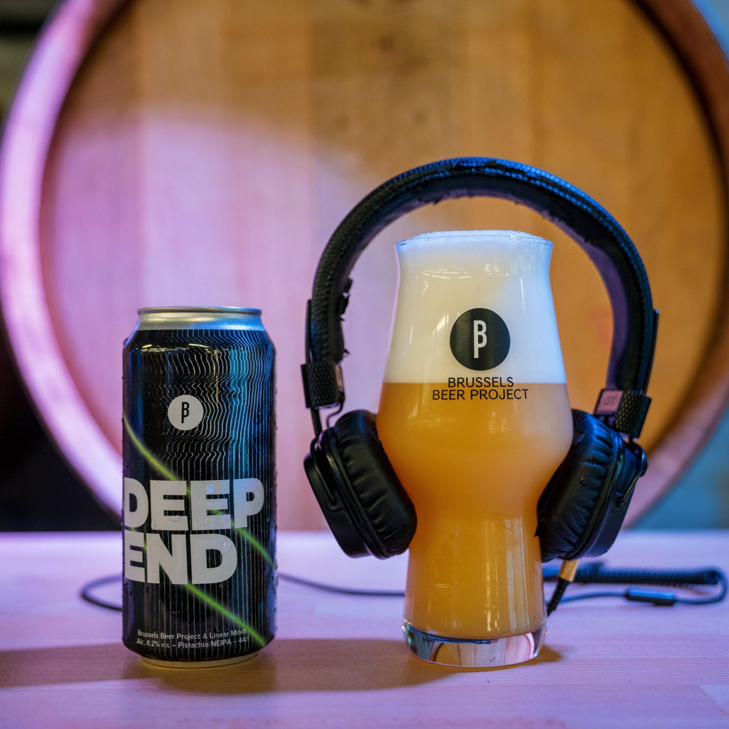 Notre bière infusée à la musique