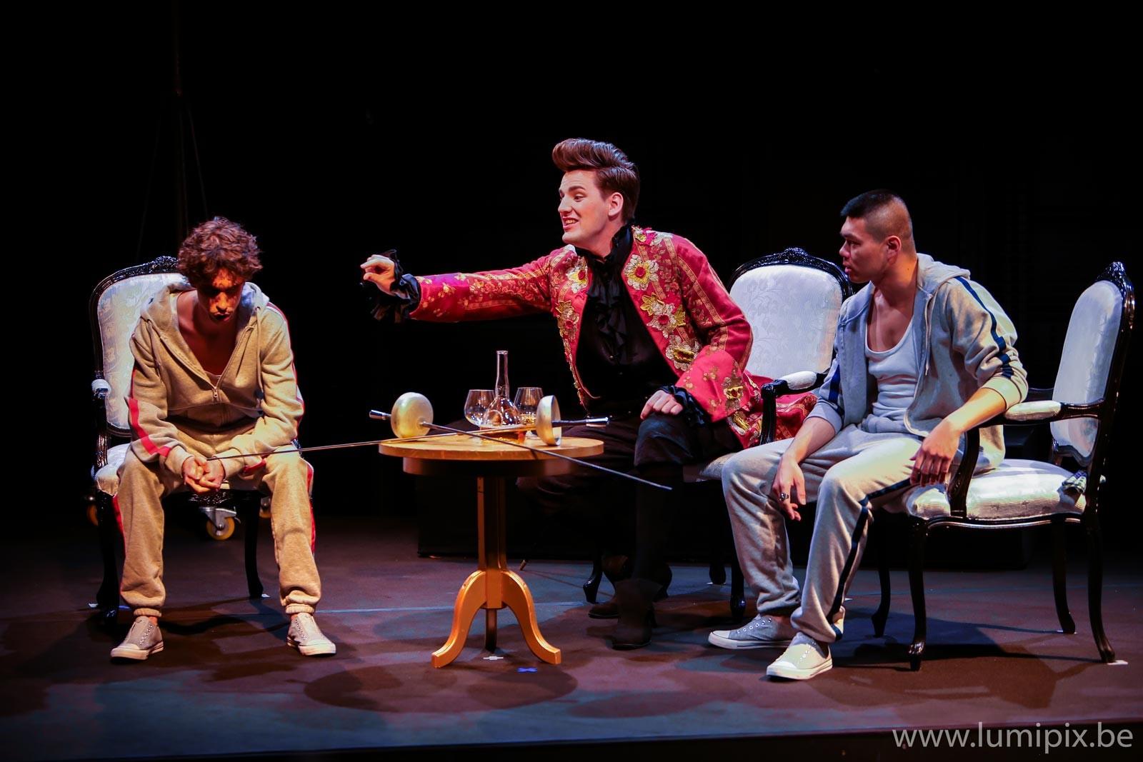 Lyrique Cosi fan tutt' - 3 hommes