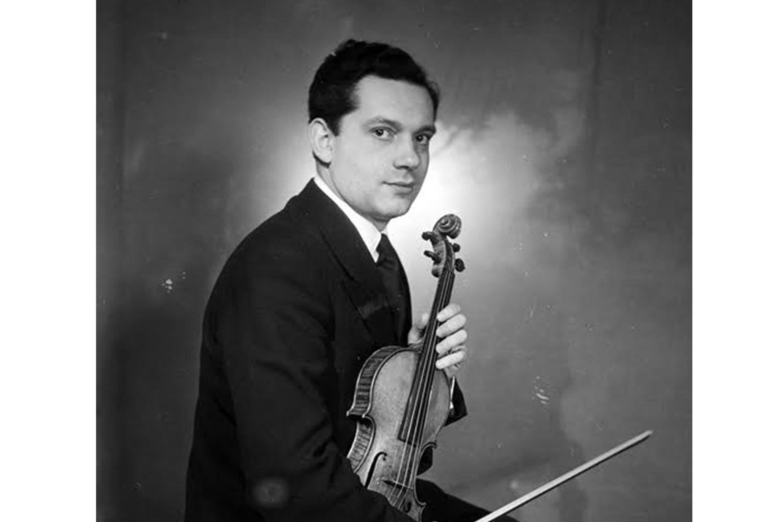 Portrait d'Arthur Grumiaux : concert centenaire le 18-03-2021 au PBA