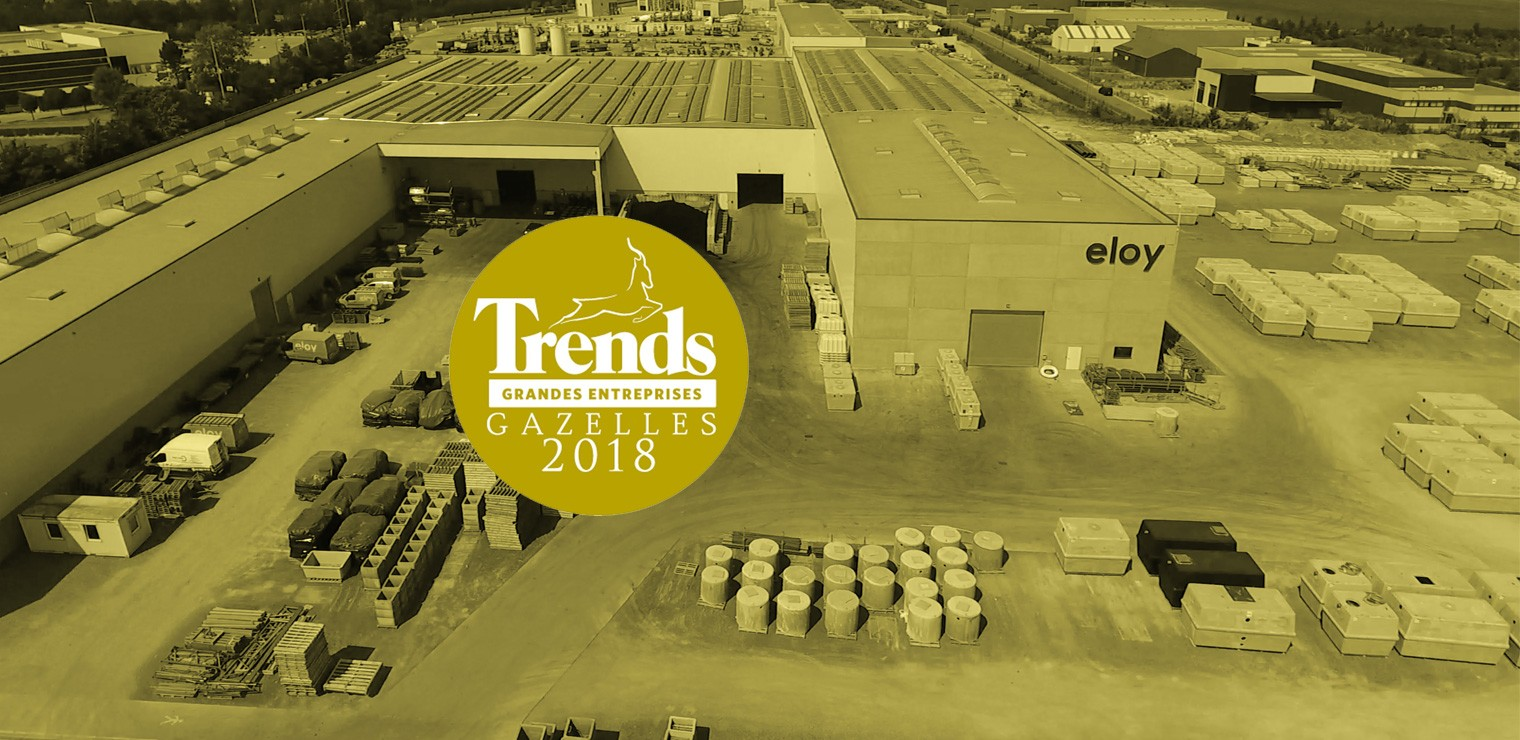 Eloy Water Prefab élue Trends Gazelles 2016