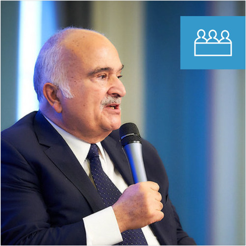 Conversation with HRH Prince El Hassan bin Talal of Jordan