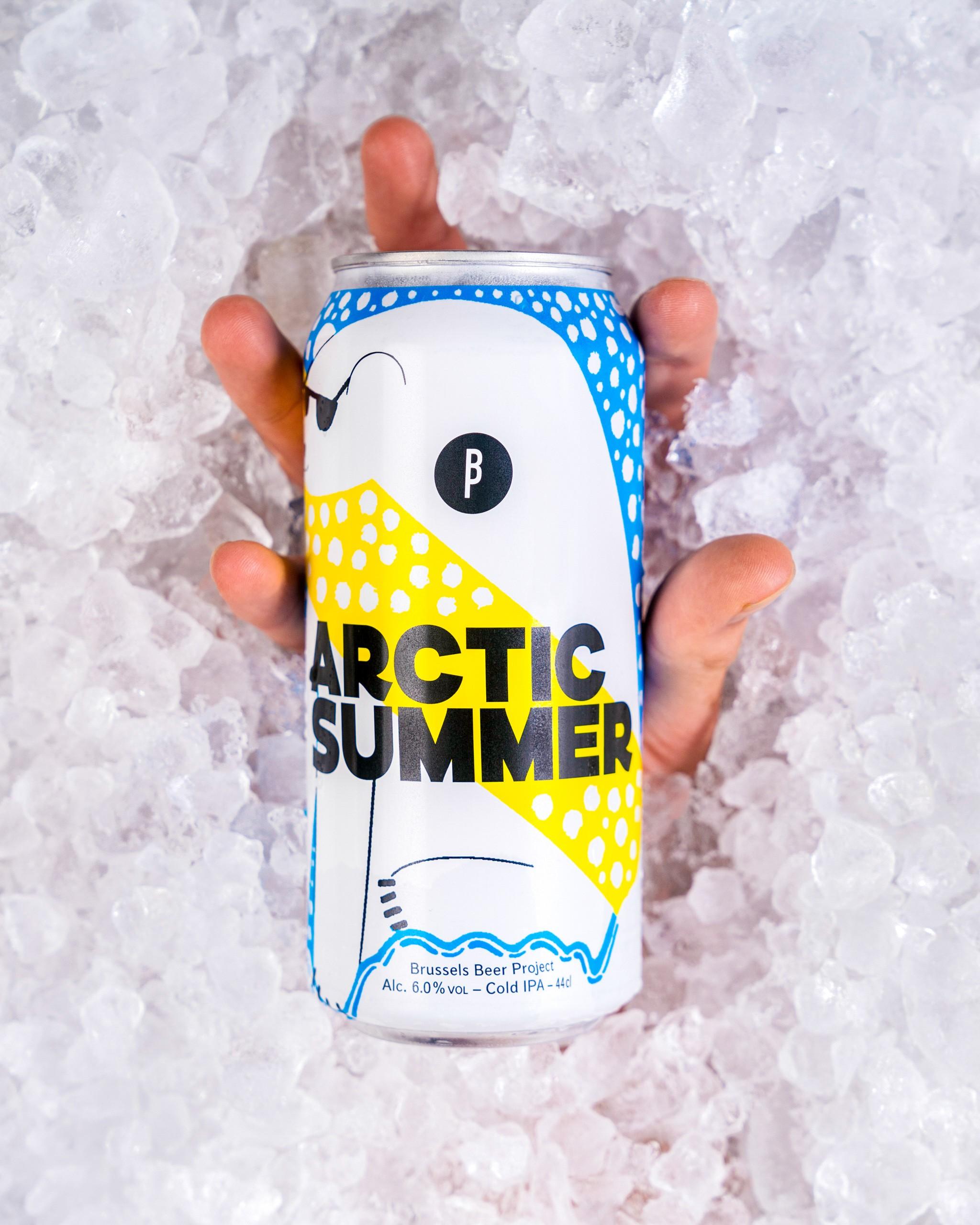 Arctic Summer, notre bière de Septembre, une Cold IPA