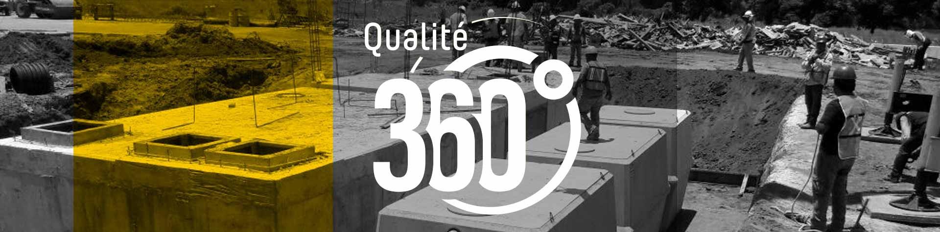 Qualité 360 installation