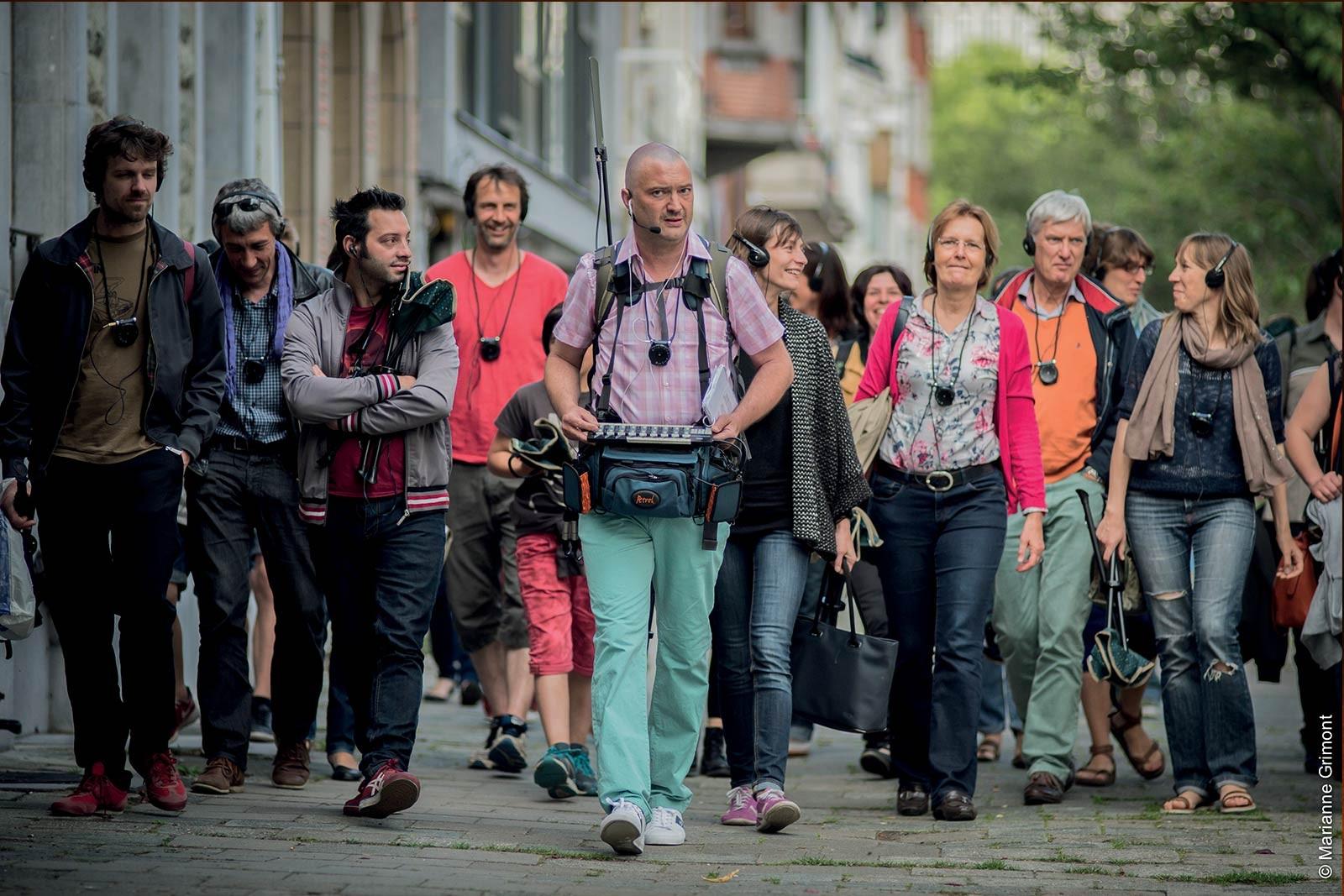 Walking thérapie festival charleroi bis-arts 2018