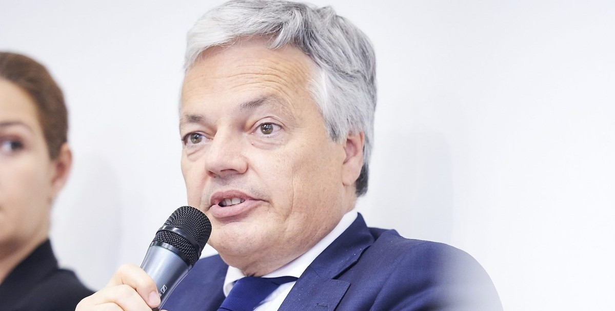 In conversation with Didier Reynders