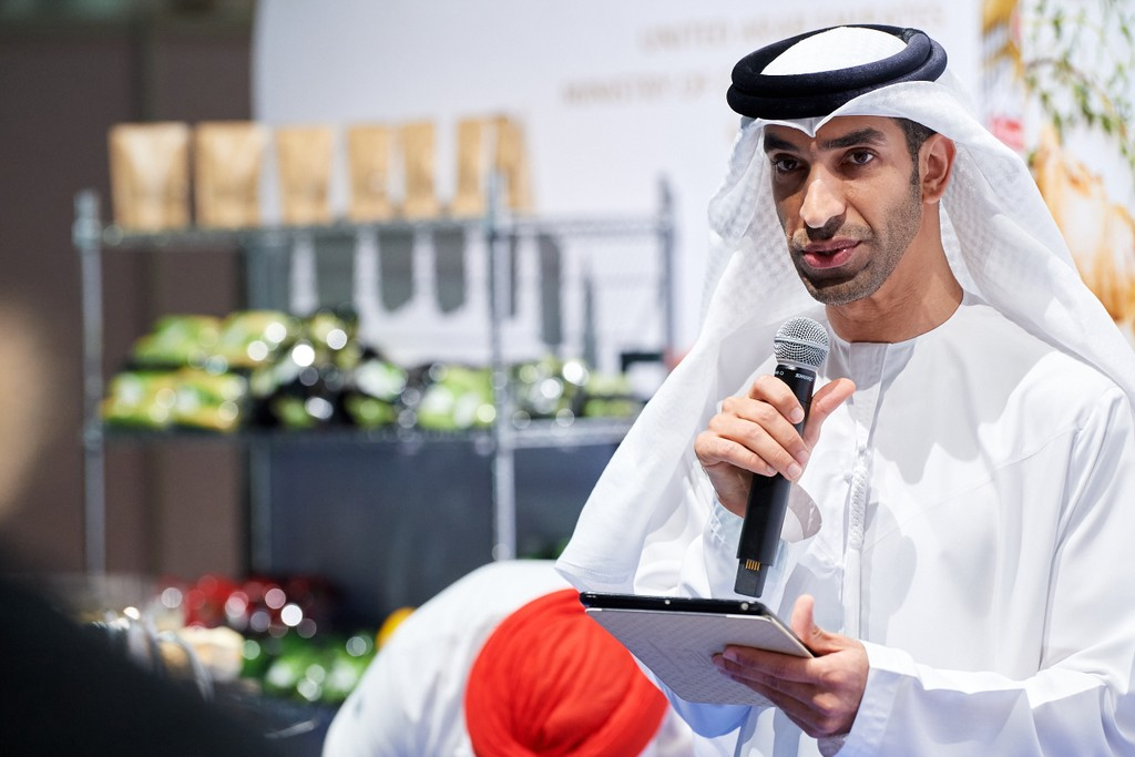 """His Excellency Dr Thani bin Ahmed Al Zeyoudi, UAE Minister of Climate Change and Environment: """"As the deadline for target 2.5 is fast approaching, and crop and livestock diversity continue to diminish, the urgency of this mission has gone up several notches. The challenge is further amplified by climate change that wreaks havoc on global biodiversity and causes habitat degradation."""""""