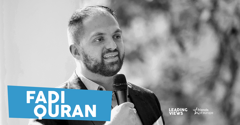 Avaaz's Fadi Quran on activism, the Israel/Palestine conflict & Europe's role in the Middle East