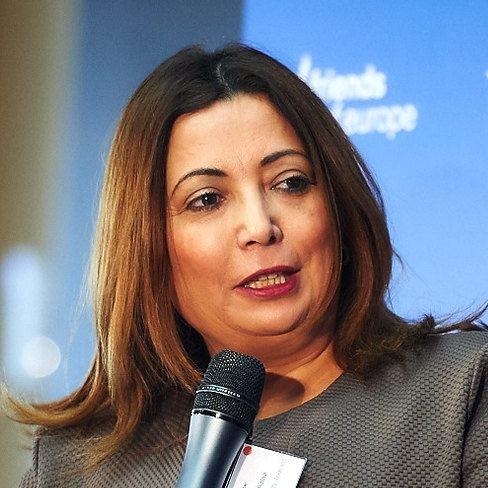 Photo of Wided Bouchamaoui