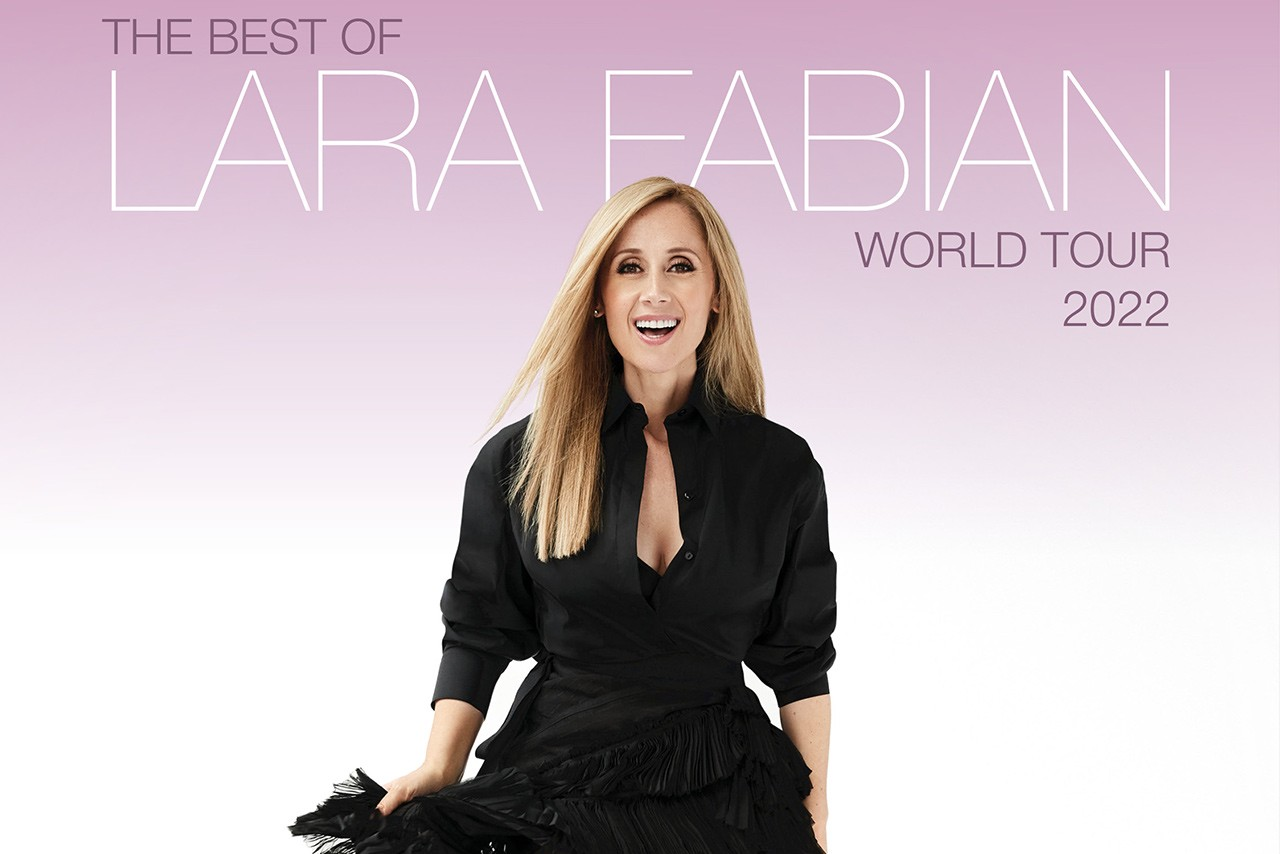 Lara Fabian Best of world tour 2022