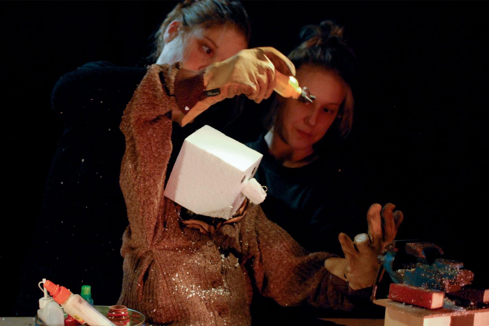 Dans l'atelier, festival charleroi bis-arts 2018 1