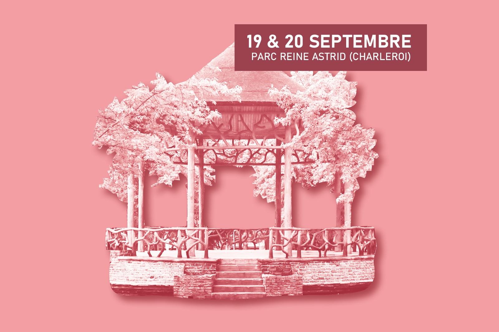 Concert au Kiosque : lancement du Festival musical du Hainaut