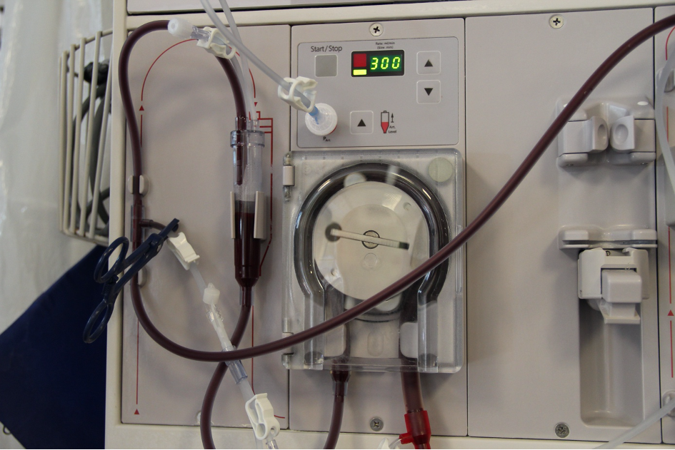 Dialysis and power supply
