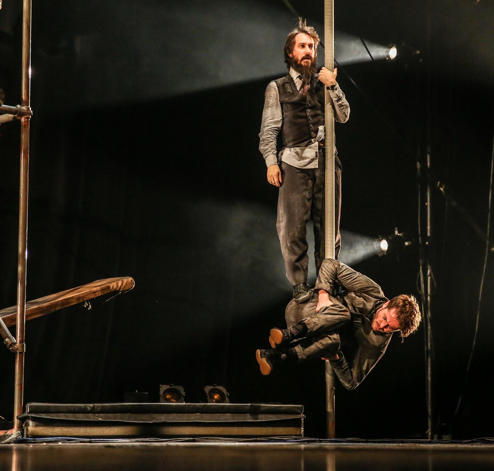 CIRQUE Machine de cirque 23 & 24 mars au PBA Charleroi