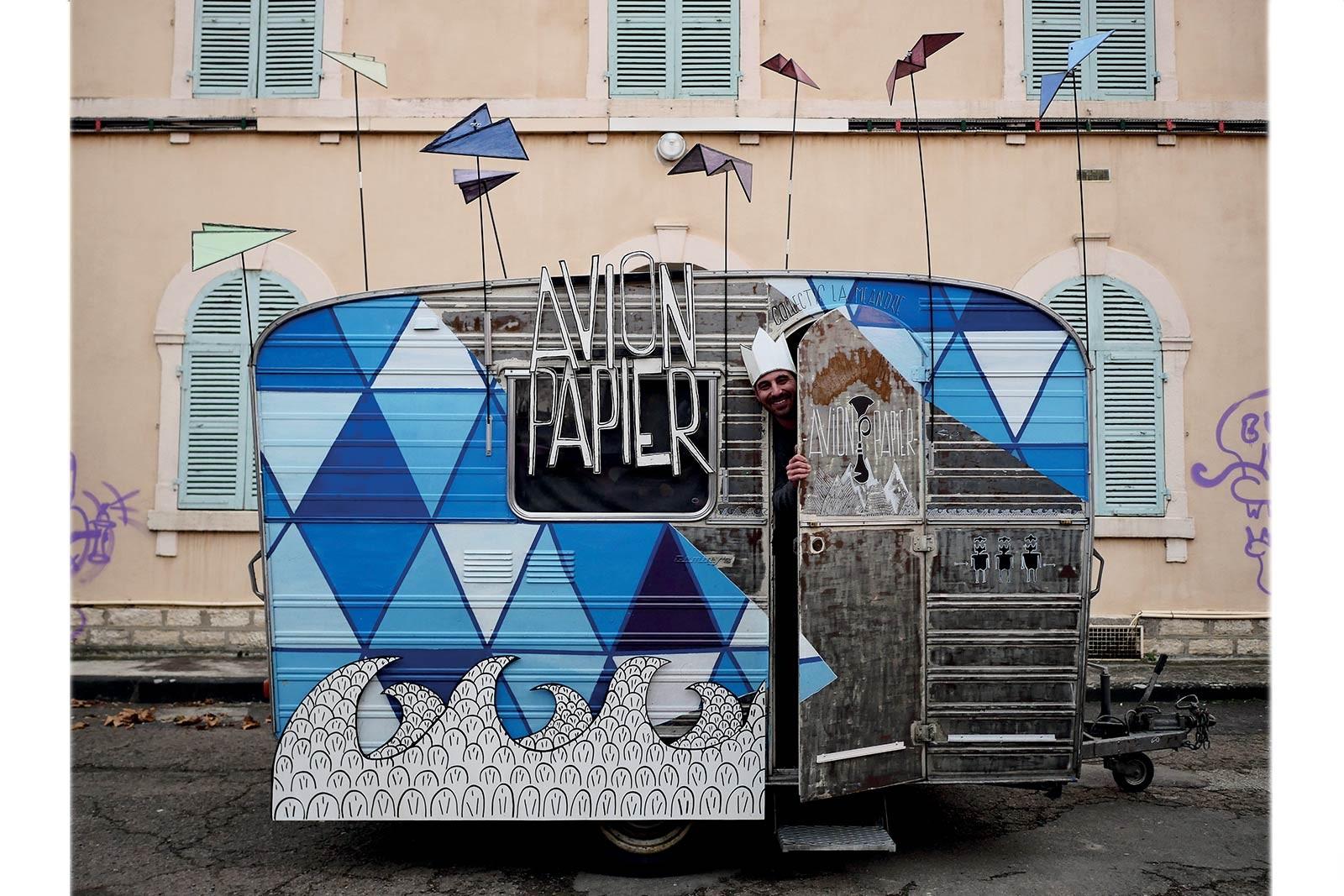 Avion Papier festival charleroi bis-arts 2018