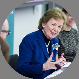 Photo of Mary Robinson