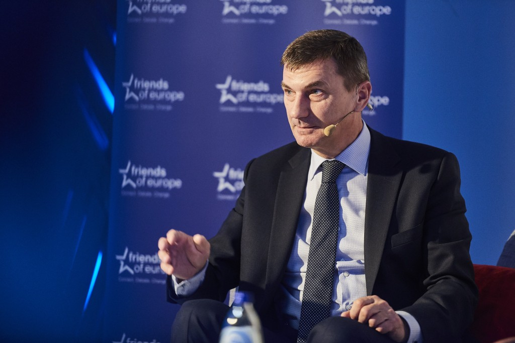 Conversation on Europe's Digital Single Market with Andrus Ansip